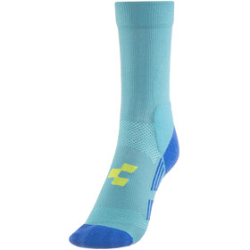 Cube Mountain Socken Unisex blue'n'lime